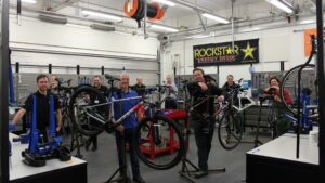 Activate Cycle Academy workshop at Bracknell and Wokingham College